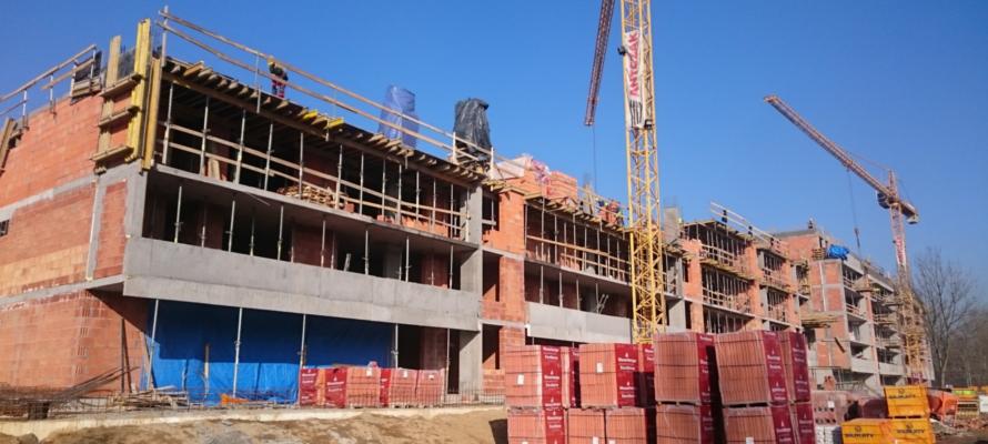 luty 2017 na budowie malty nowej 2 poznan mieszkania