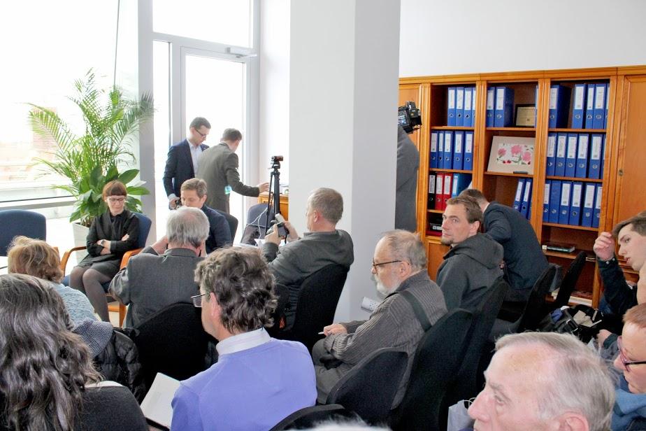 Konferencja prasowa premiera Madagaskar