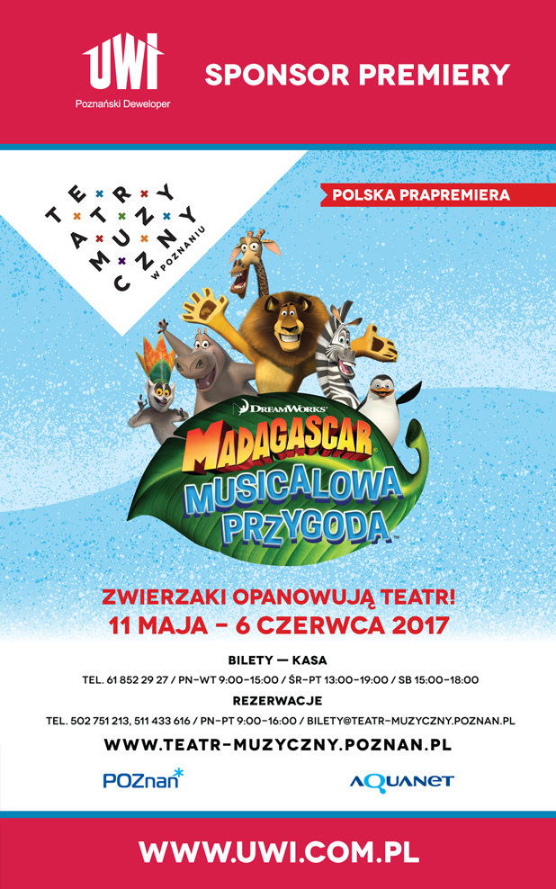 Plakat Madagaskar UWI