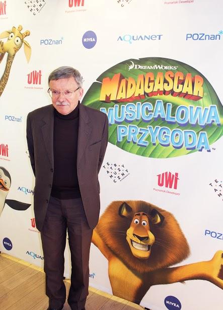Prezes UWI Jacek Cenkiel i premiera Madagaskar