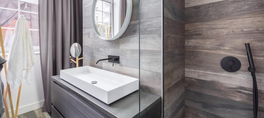 łazienka W Drewnie Efektowna I Przytulna Blog Uwi