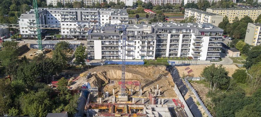 osiedle botanika - relacja z placu budowy