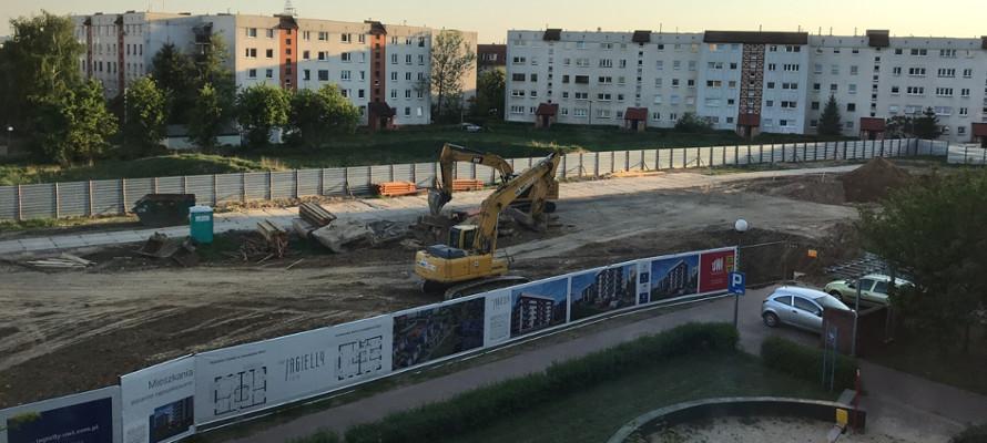 Rozpoczęcie budowy inwestycji Nowe Jagiełły 12N