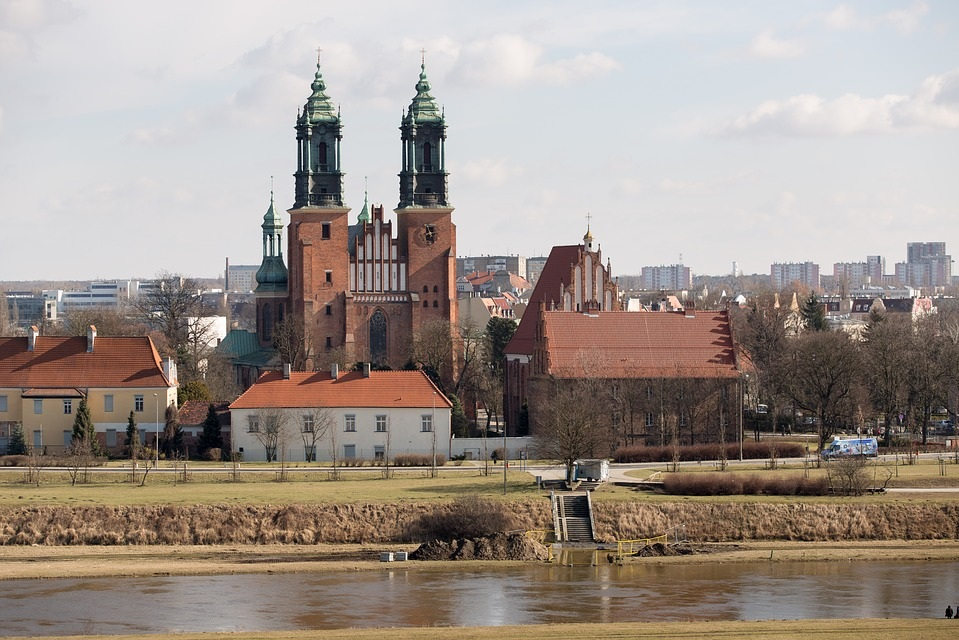 Katedra na Ostrowie Tumskim w Poznaniu