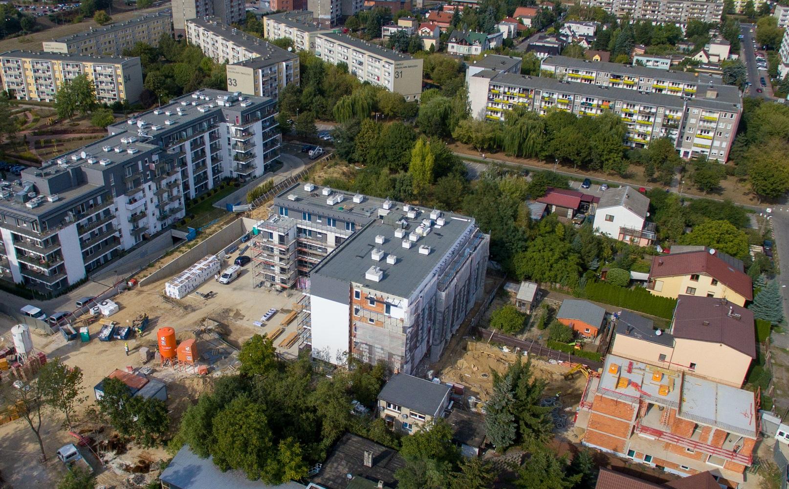 Osiedle Botanika - nowe mieszkania - UWI - wrzesień 2018