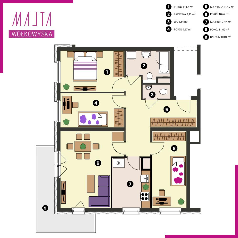 Nowe mieszkanie Malta Wołkowyska