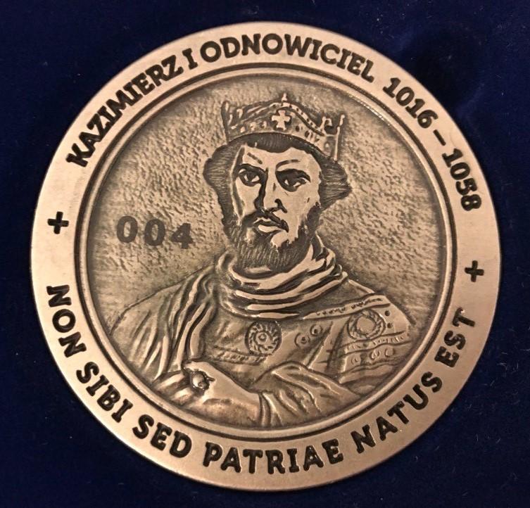 Kazimierz Odnowiciel - medal