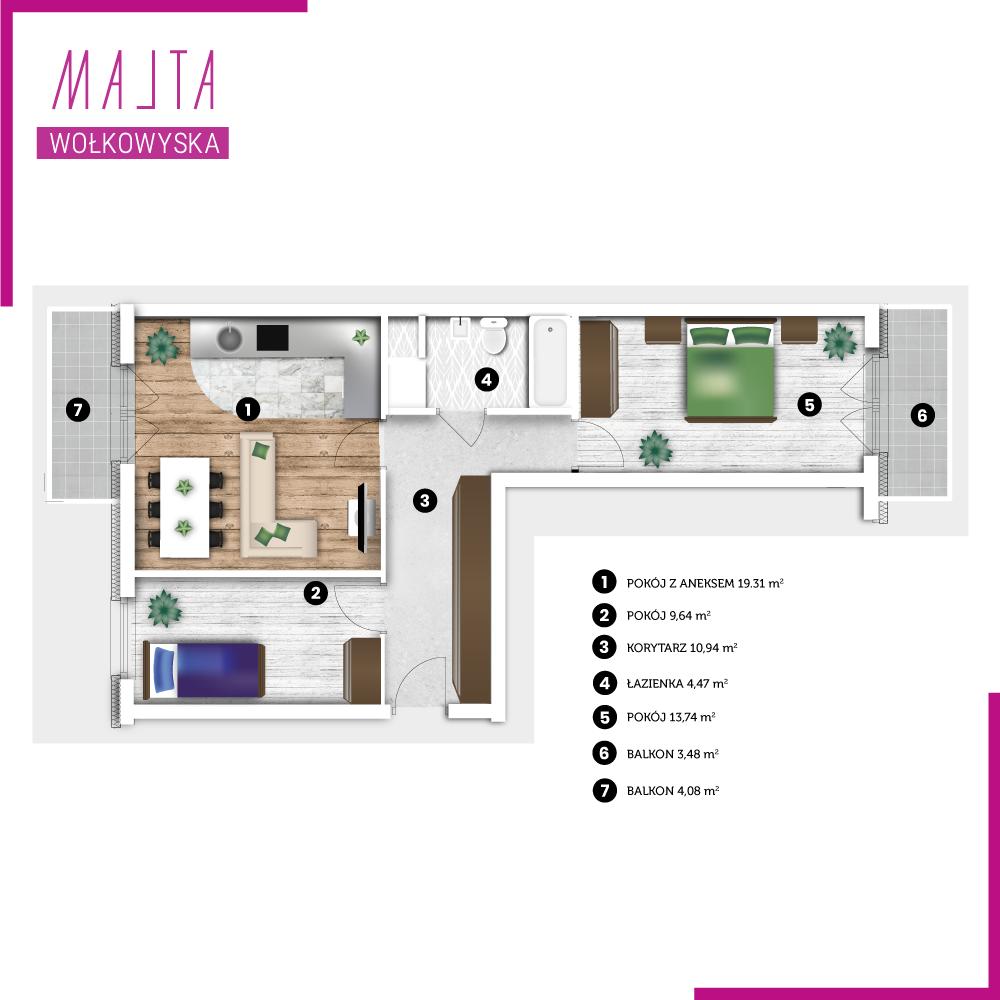 Mieszkanie miesiąca nr 6