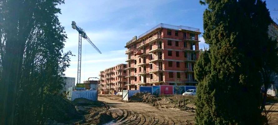 Nowe Jagiełły 12N - postępy prac na budowie