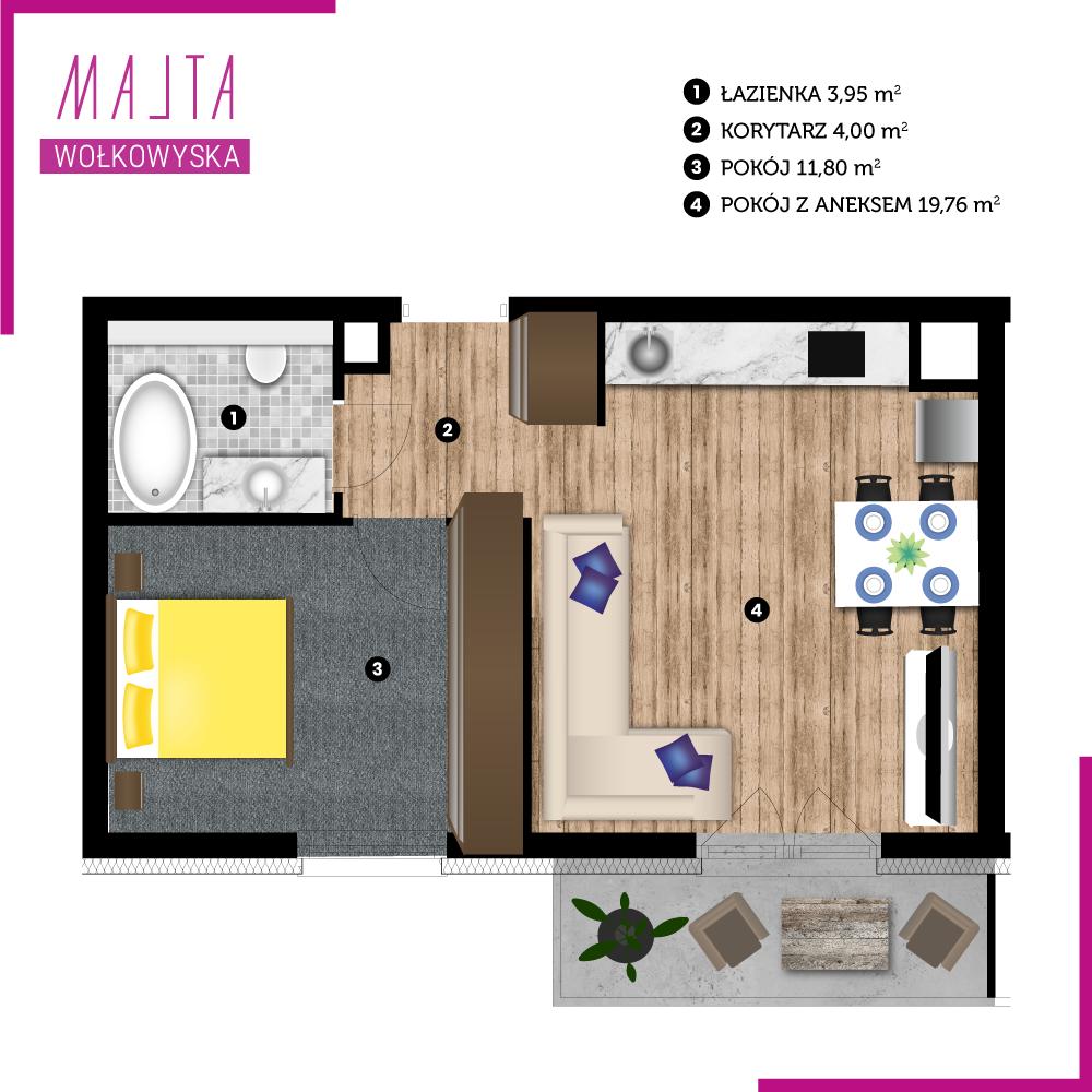 Mieszkanie miesiąca nr 7