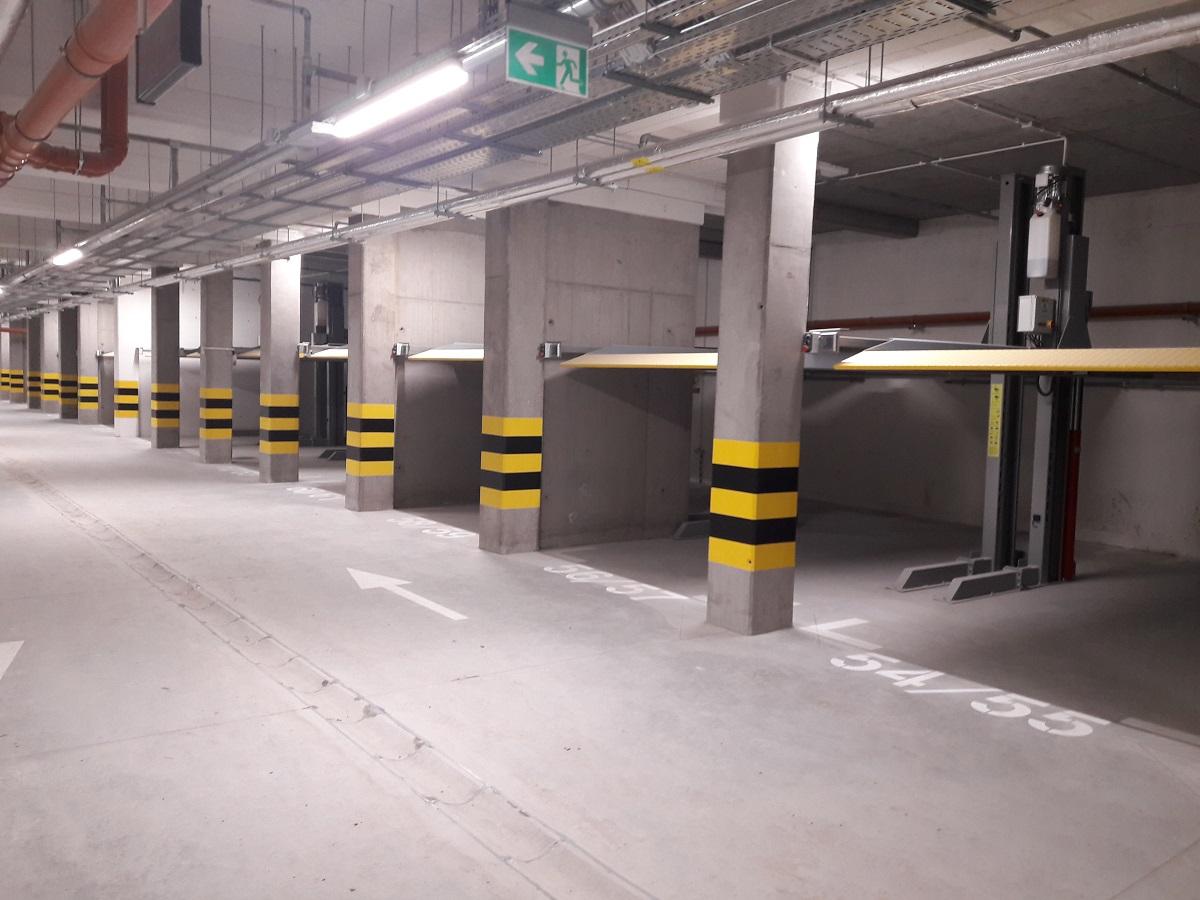 Platformy parkingowe - Malta Nowa 2