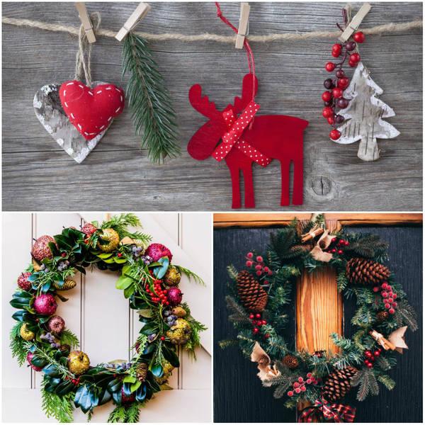 świąteczne ozdoby wiszące