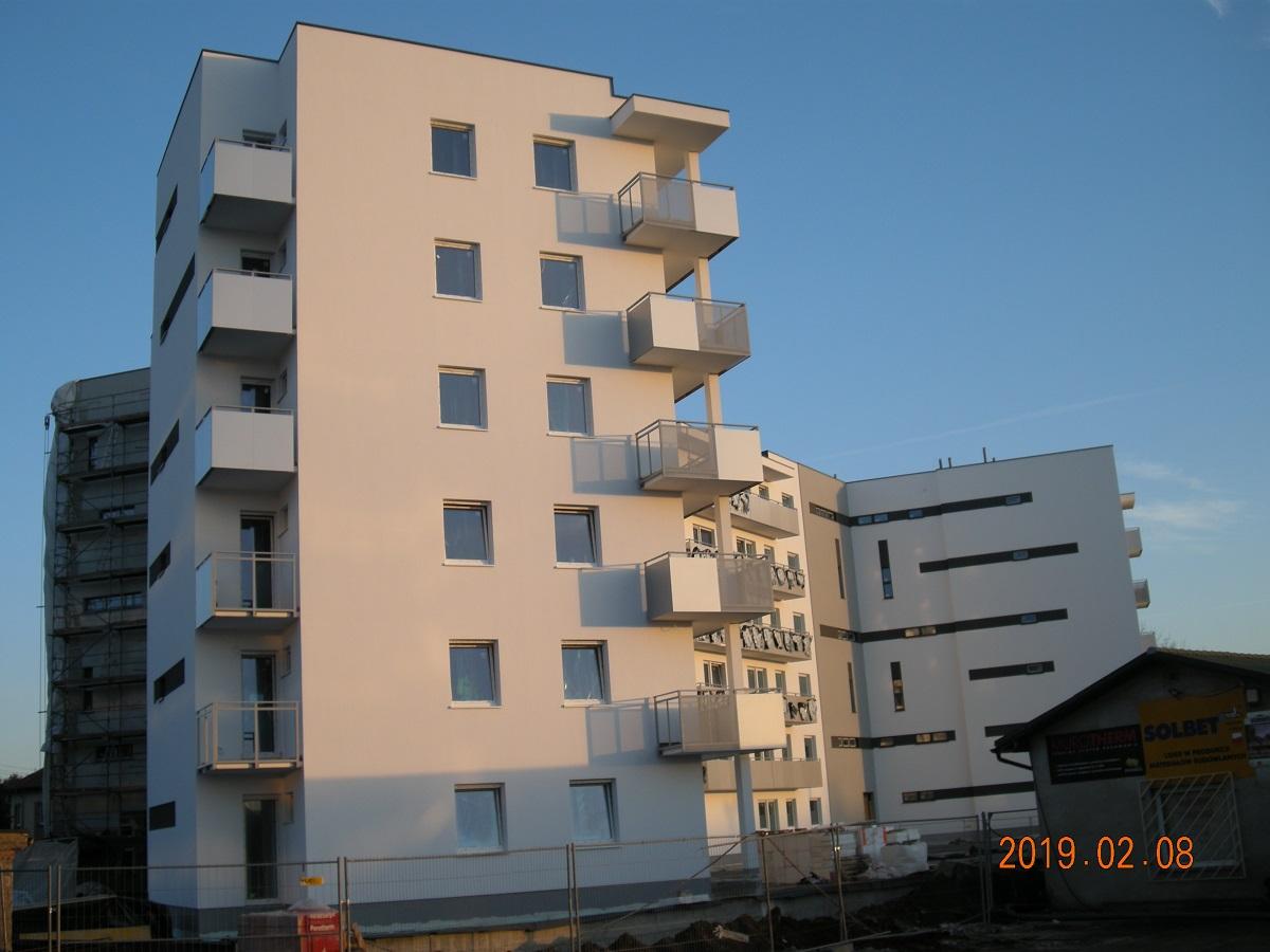 Mieszkania na Ratajach - Malta26 - budowa