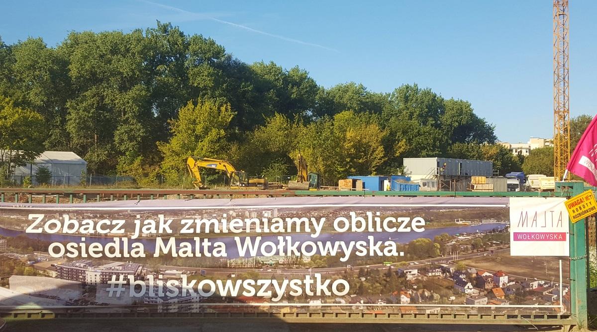 Malta Wołkowyska - relacja z budowy - wrzesień 2019